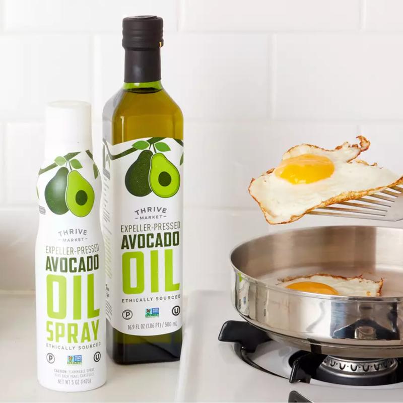 Avocado Oil and Avocado Oil Spray - Thrive Market - Certified Paleo KETO Certified by the Paleo Foundation