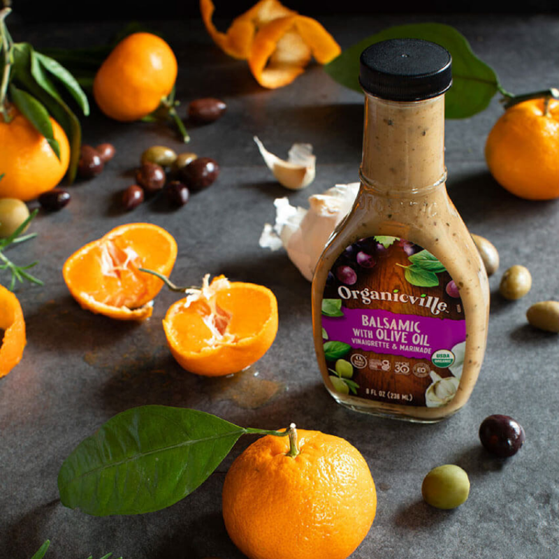 Balsamic Dressing - Organicville - Certified Paleo by the Paleo Foundation