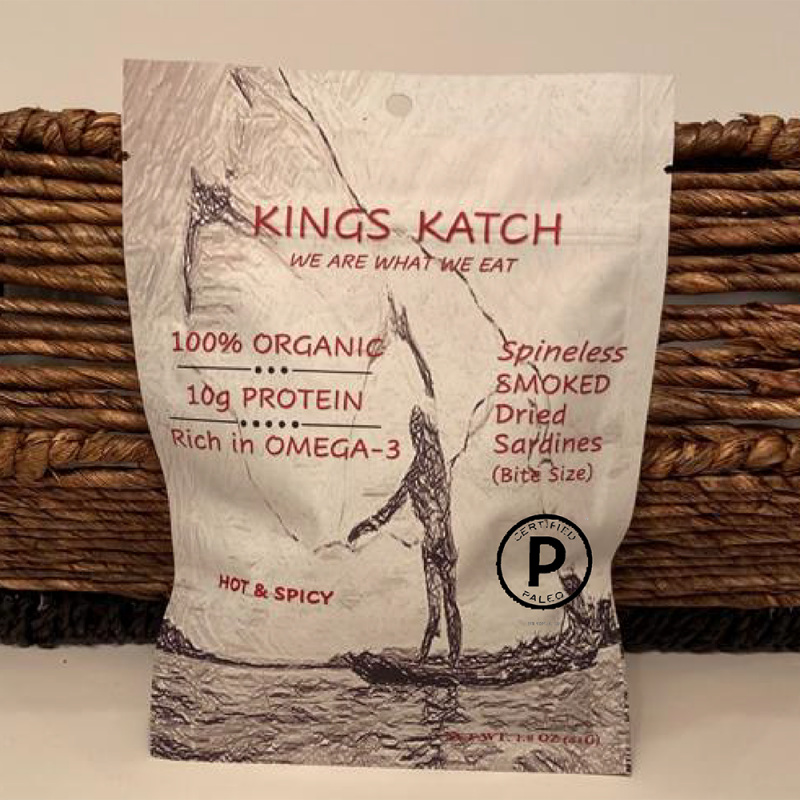 Kings Katch Hot and Spicy Gallery - Certified Paleo by the Paleo Foundation