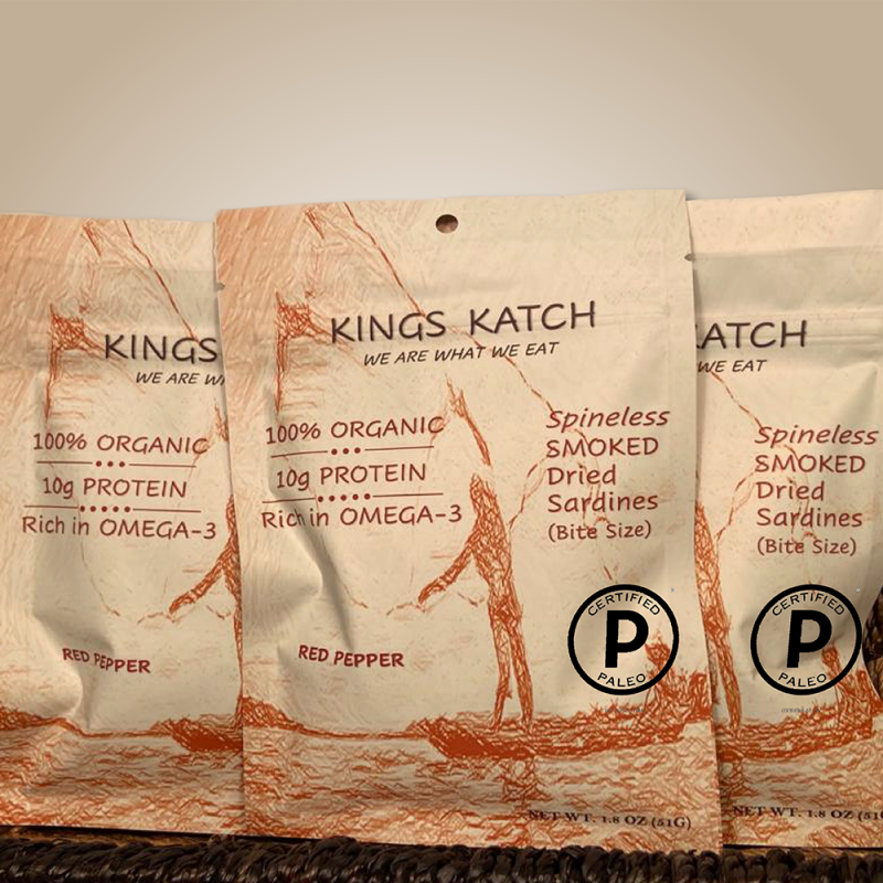 Kings Katch Red Pepper Assortment - Certified Paleo by the Paleo Foundation