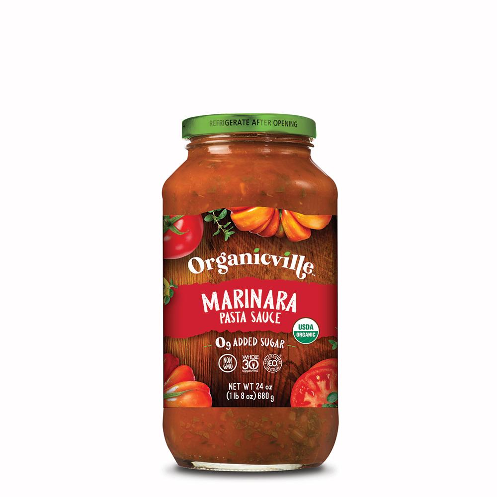 Marinara Pasta Sauce - Organicville - Certified Paleo by the Paleo Foundation
