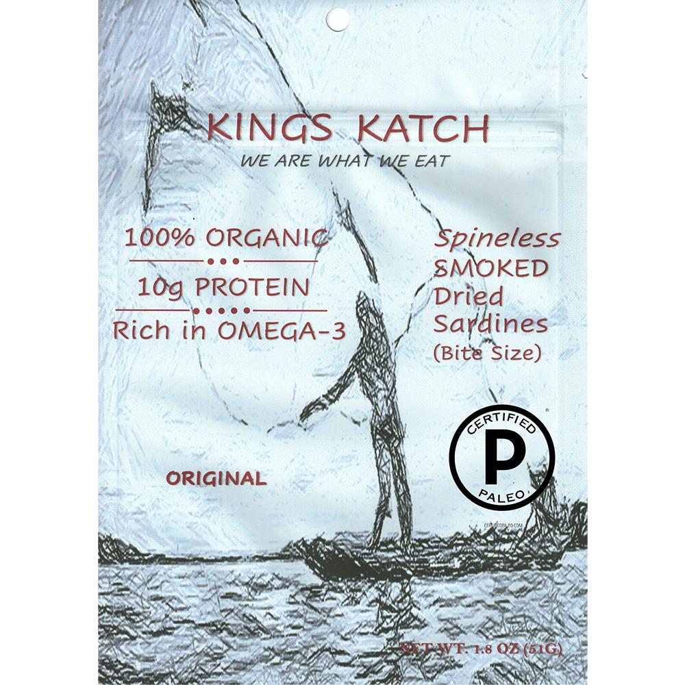 Smoked Sardine Orignal - Kings Katch - Certified Paleo by the Paleo Foundation