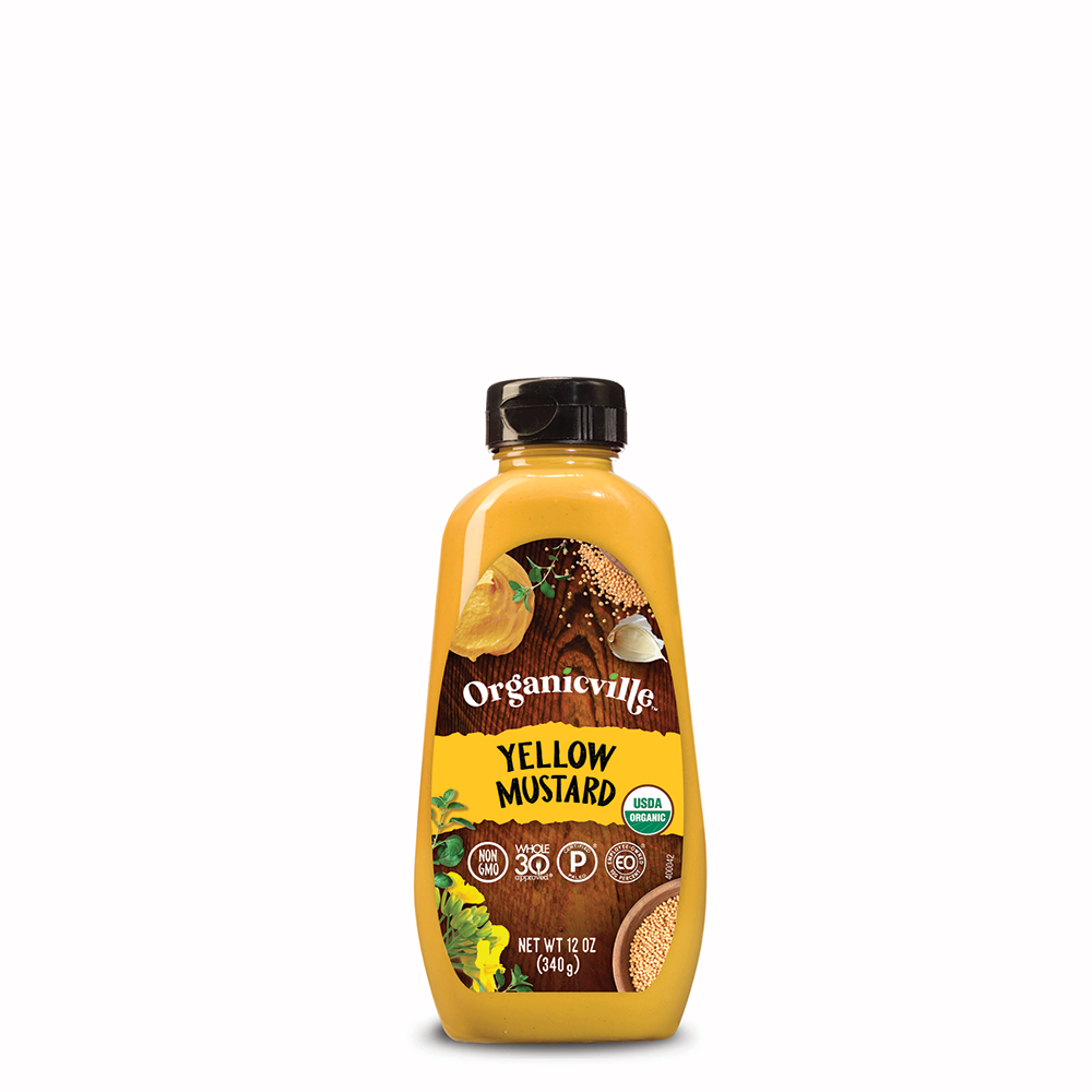 Yellow Mustard - Organicville - Certified Paleo by the Paleo Foundation