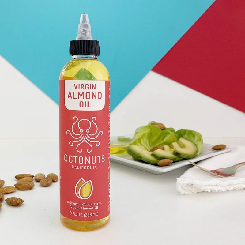 Almond Oil with Avocado - Octonuts - Certified Paleo Keto Certified Paleo Vegan Grain Free by the Paleo Foundation