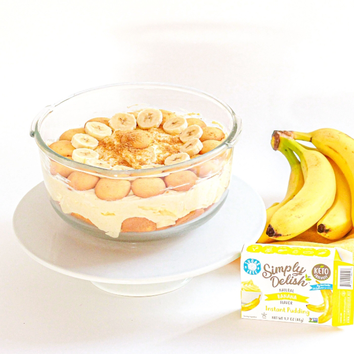 Banana Pudding Gluten Free Wafers - Simply Delish - Keto Certified by the Paleo Foundation