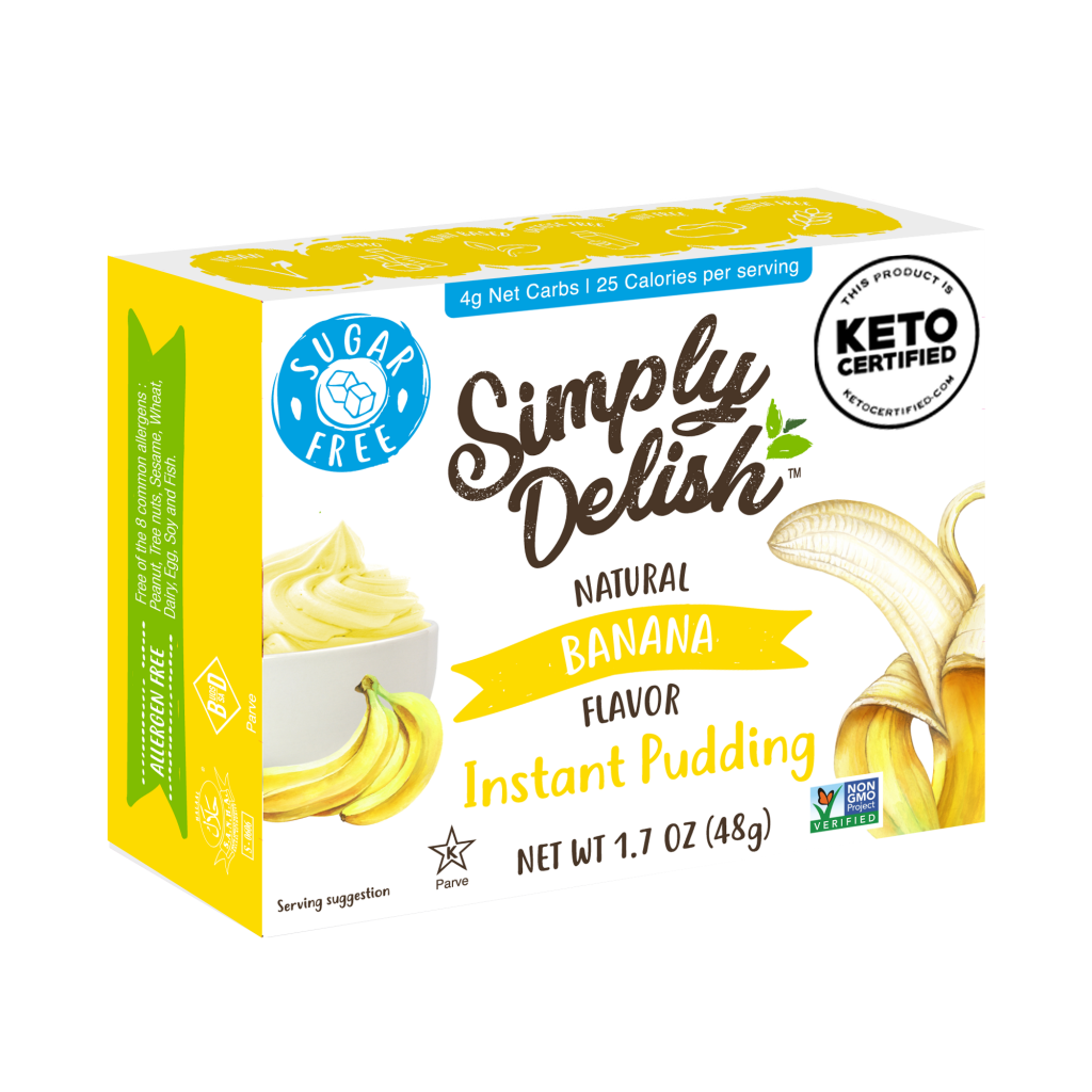 Banana Pudding - Simply Delish - Keto Certified by the Paleo Foundation