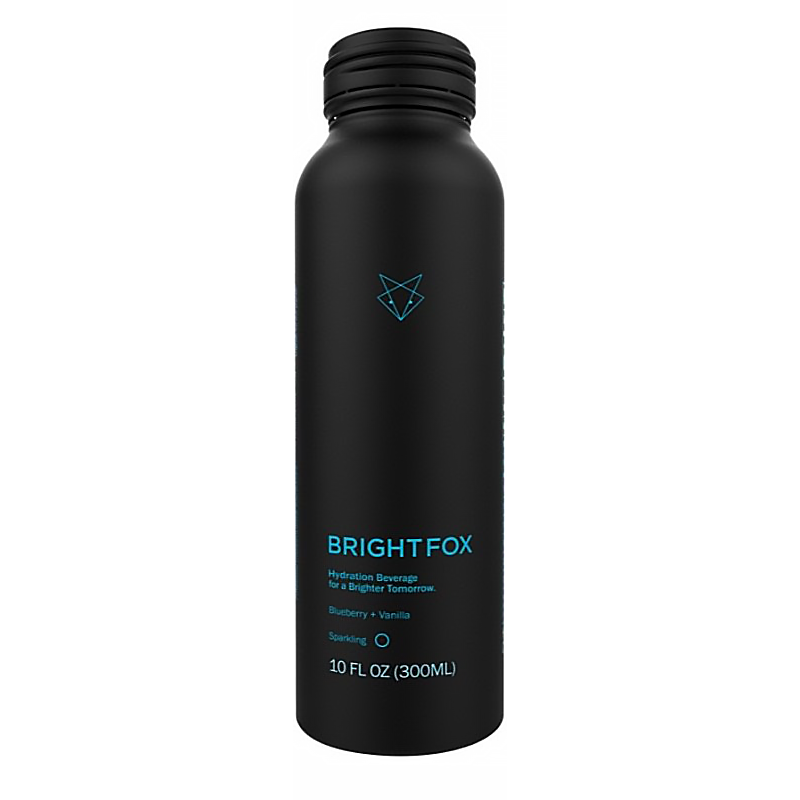 Blueberry Vanilla Sparkling - Brightfox - Keto Certified Grain Free by the Paleo Foundation