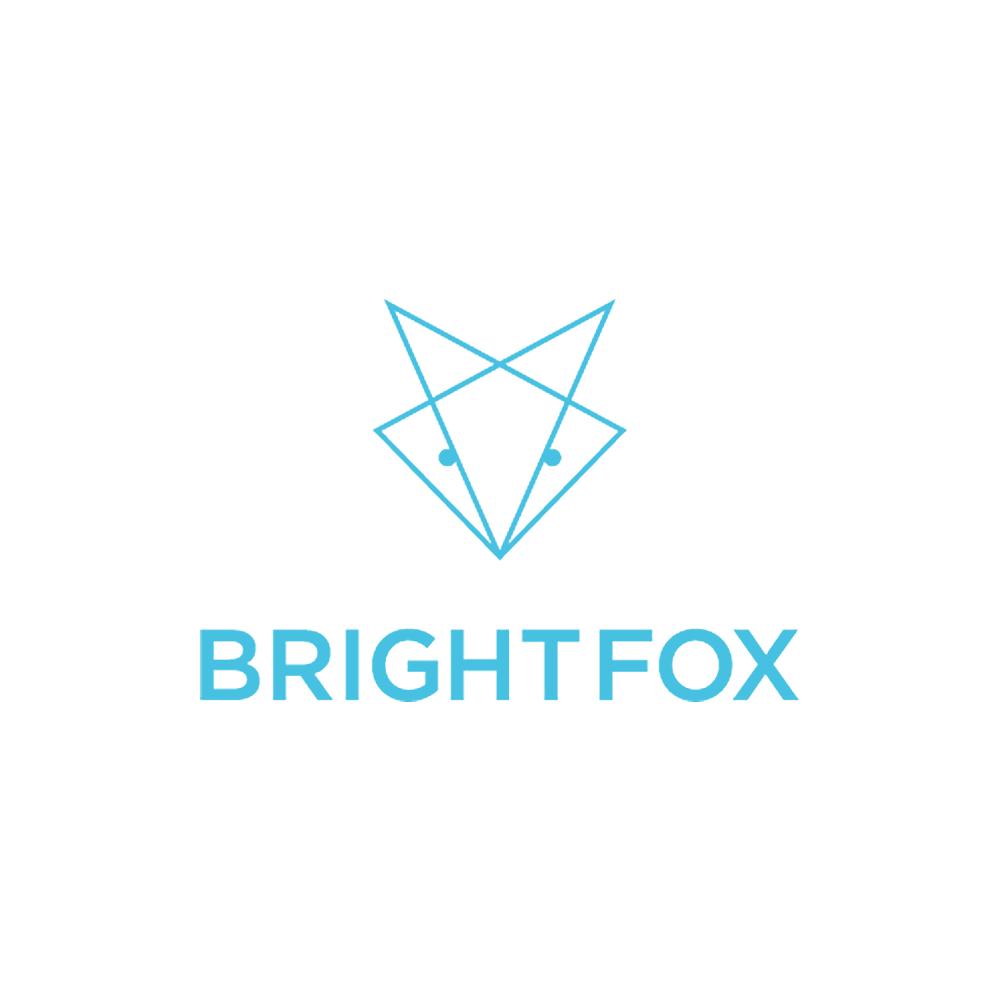 Bright Fox Logo - Keto Certified Grain Free by the Paleo Foundation