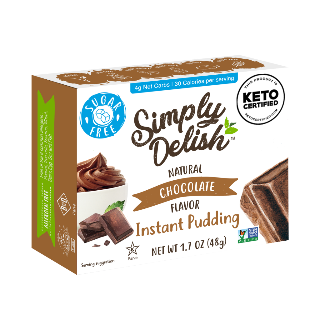 Chocolate Pudding - Simply Delish - Keto Certified by the Paleo Foundation