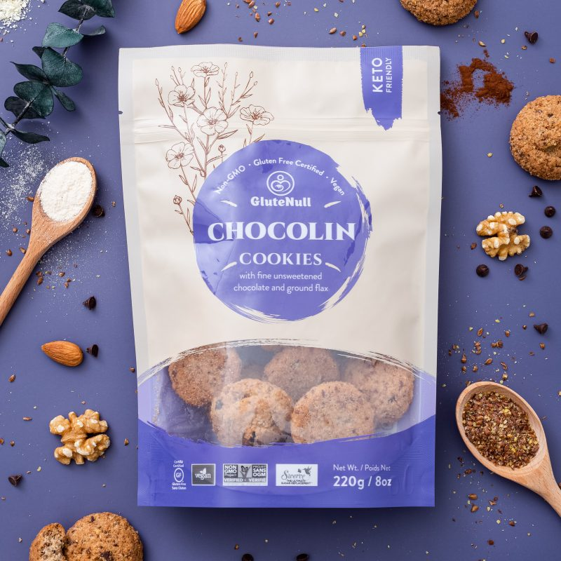 Chocolin Cookies - GluteNull Keto Certified by the Paleo Foundation