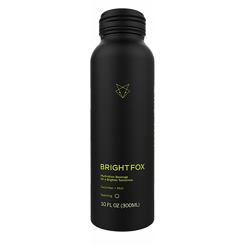Cucumber Mint Sparkling - Brightfox - Keto Certified Grain Free by the Paleo Foundation