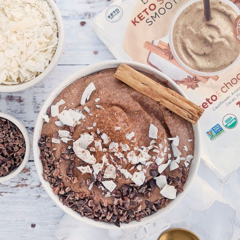 Keto Chocolate Chai 01 - Blendtopia - Keto Certified by the Paleo Foundation
