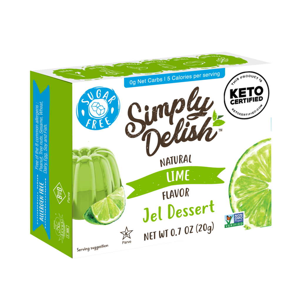 Lime Jel Dessert - Simply Delish - Keto Certified by the Paleo Foundation