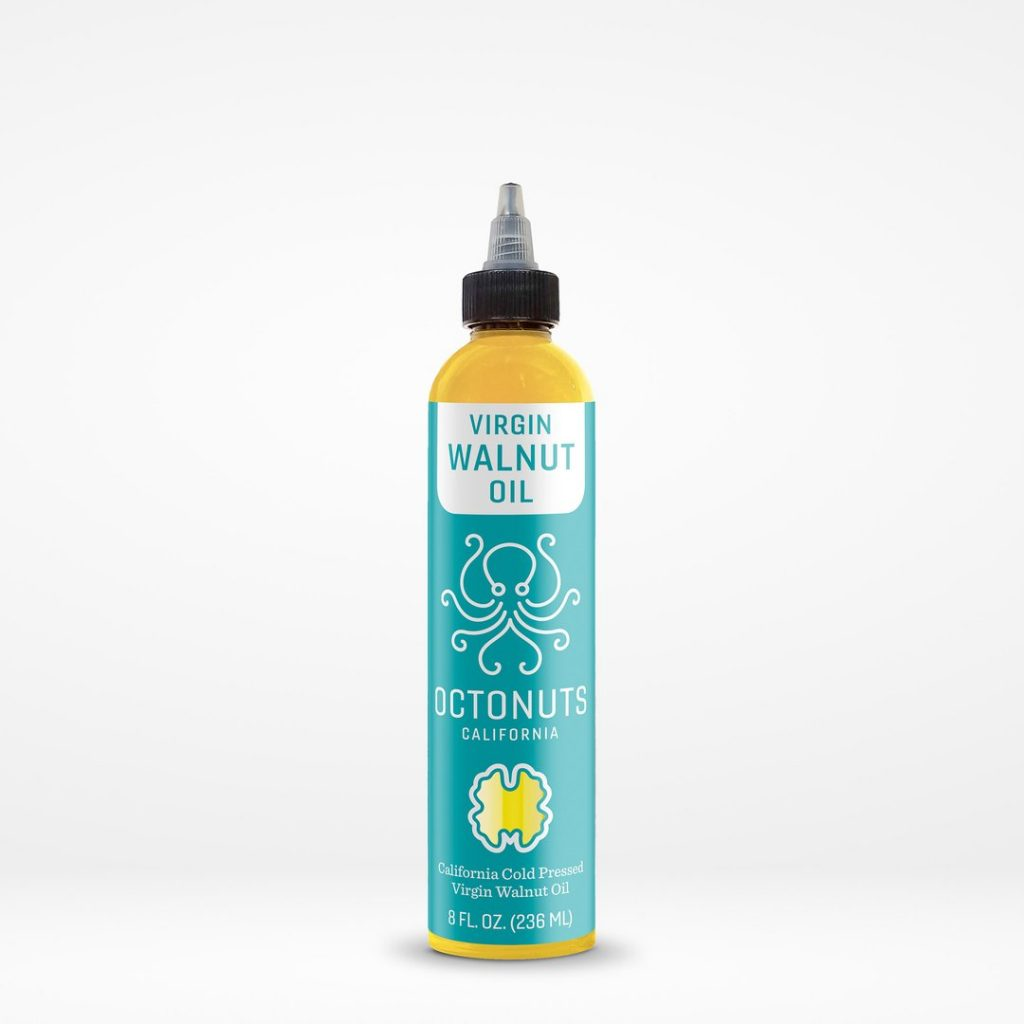 Octonuts California Cold Pressed Virgin Walnut Oil - Certified Paleo Keto Certified Paleo Vegan Gluten Free by the Paleo Foundation