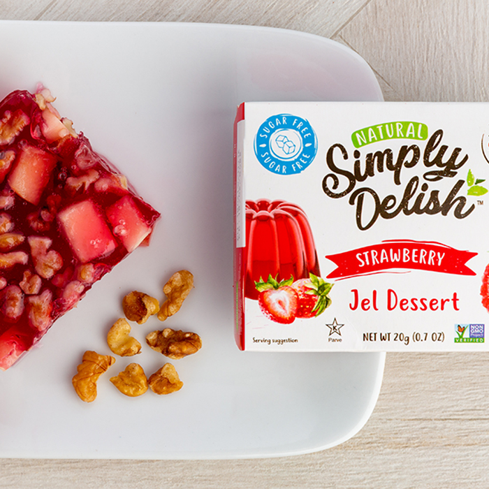 Strawberry Fruit and Nut Jel - Simply Delish - Keto Certified by the Paleo Foundation