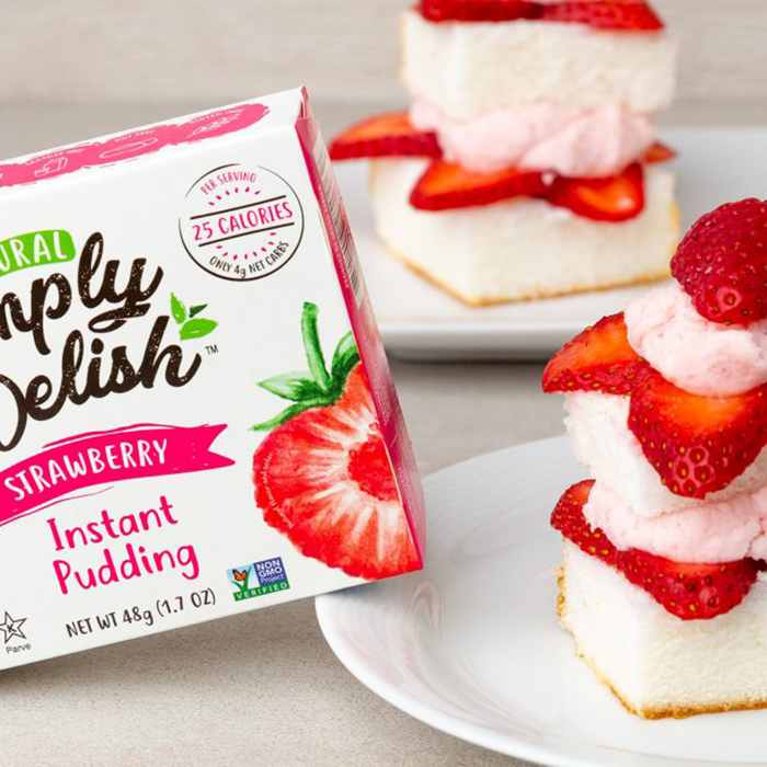 Strawberry Short Cake - Simply Delish - Keto Certified by the Paleo Foundation