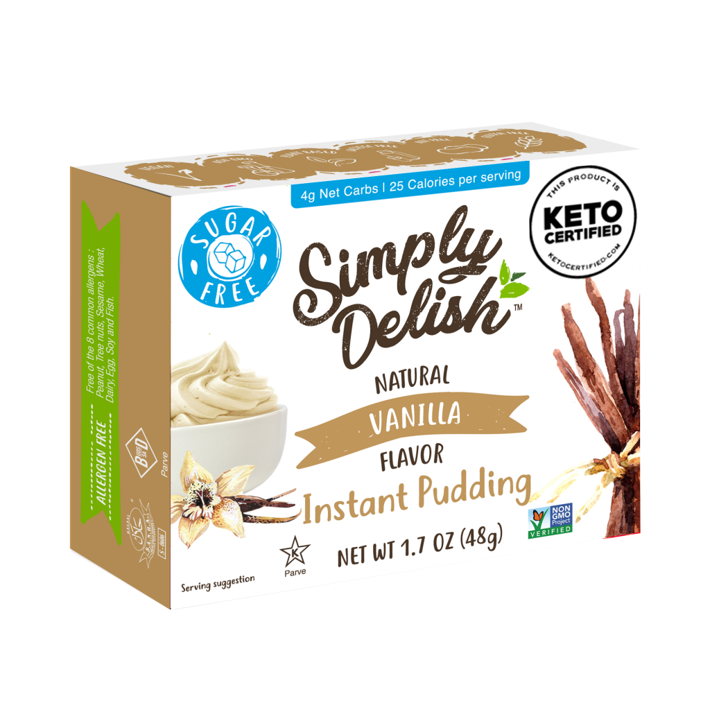 Vanilla Pudding - Simply Delish - Keto Certified by the Paleo Foundation