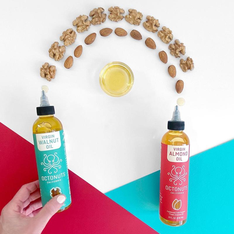 Walnut and Almond Oil - Octonuts - Certified Paleo Keto Certified Paleo Vegan Grain Free by the Paleo Foundation