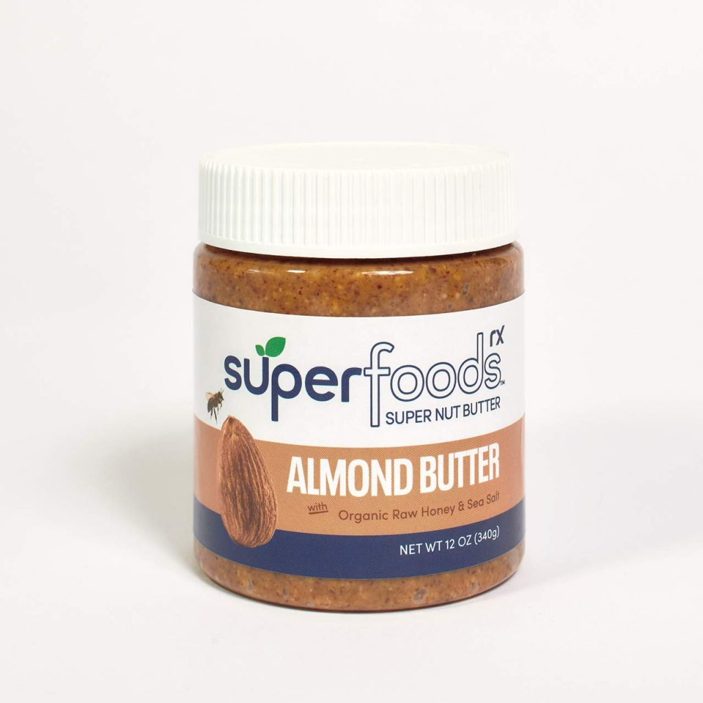 Almond Butter with Organic Raw Honey - SuperFoodsRx - Keto Certified by the Paleo Foundation