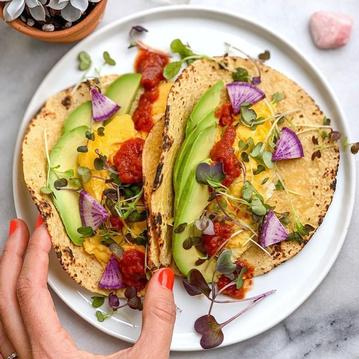 Almond Flour Tortilla Tacos - Maria and Ricardo's - Certified Paleo Keto Certified by the Paleo Foundation