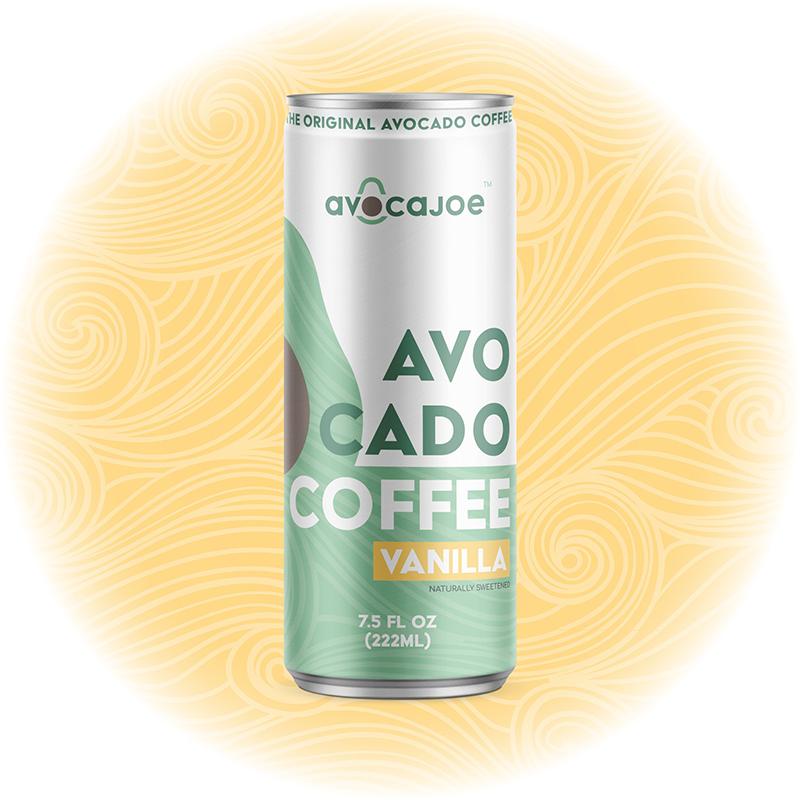 Avocado Coffee Vanilla - Avocajoe - Keto Certified by the Paleo Foundation
