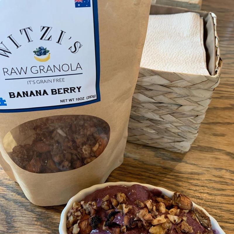 Banana Berry Raw Granola - Witzi's Raw Granola - Certified Paleo Keto Certified by the Paleo Foundation
