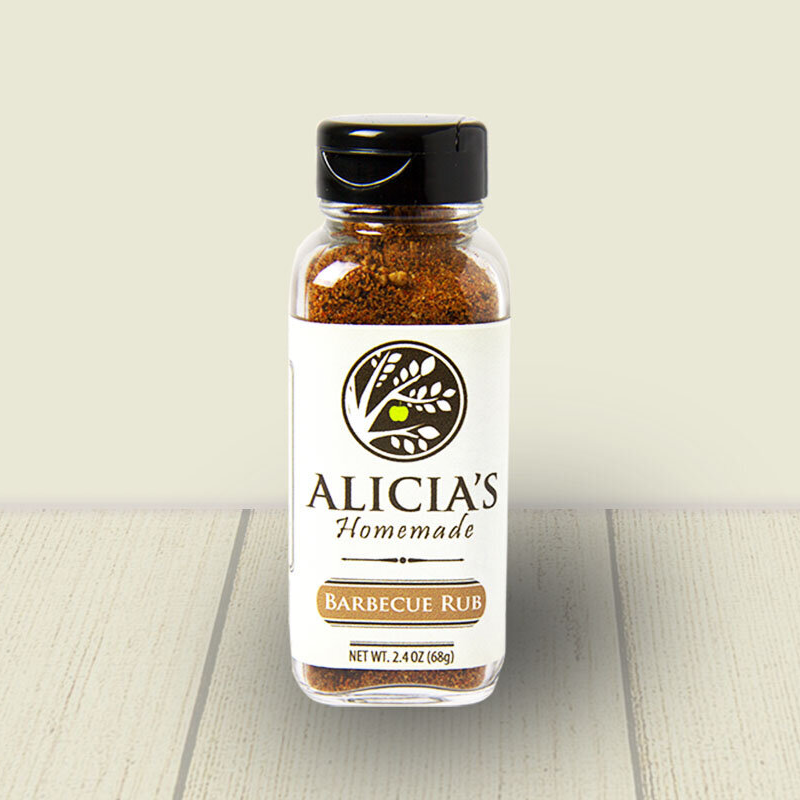 Barbecue Rub - Alicia's Homemade - Keto Certified by the Paleo Foundation