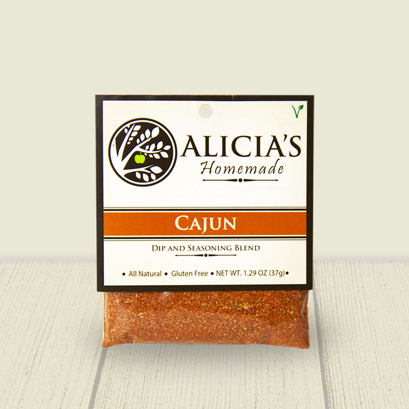Cajun Seasoning Blend - Alicia's Homemade - Keto Certified by the Paleo Foundation