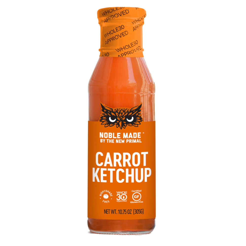 Carrot Ketchup - The New Primal - Keto Certified by the Paleo Foundation