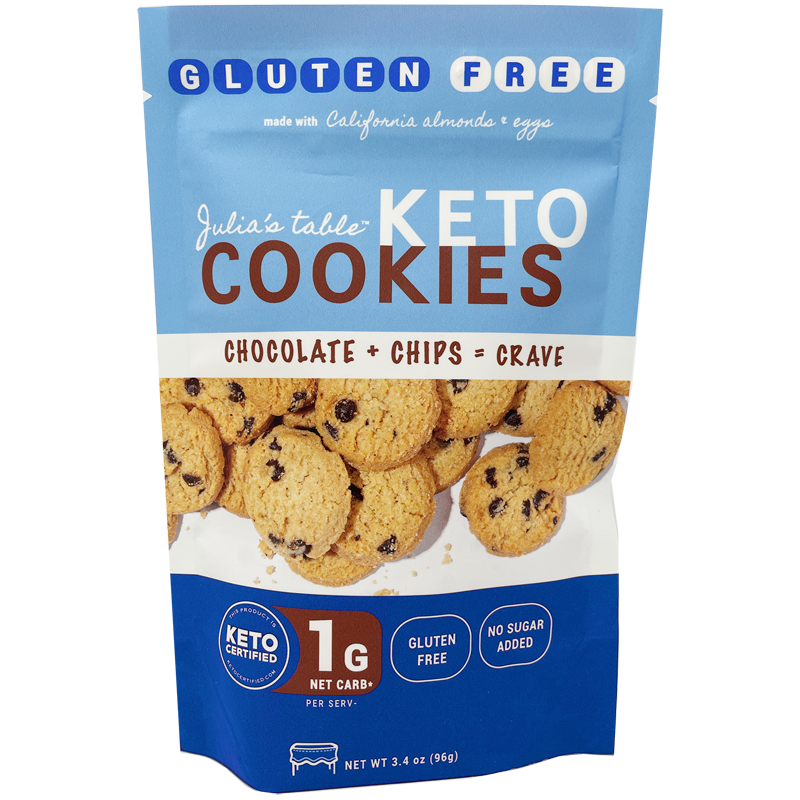 Chocolate Chip Cookies - Julia's Table - Keto Certified by the Paleo Foundation