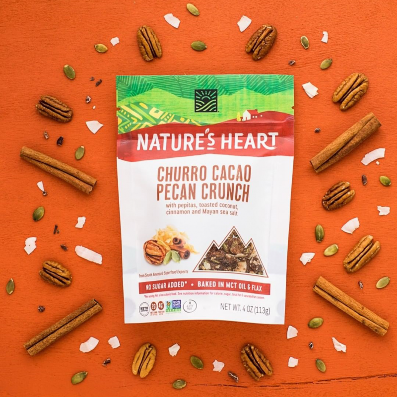 Churro Cacao Gallery - Nature's Heart - Keto Certified by the Paleo Foundation