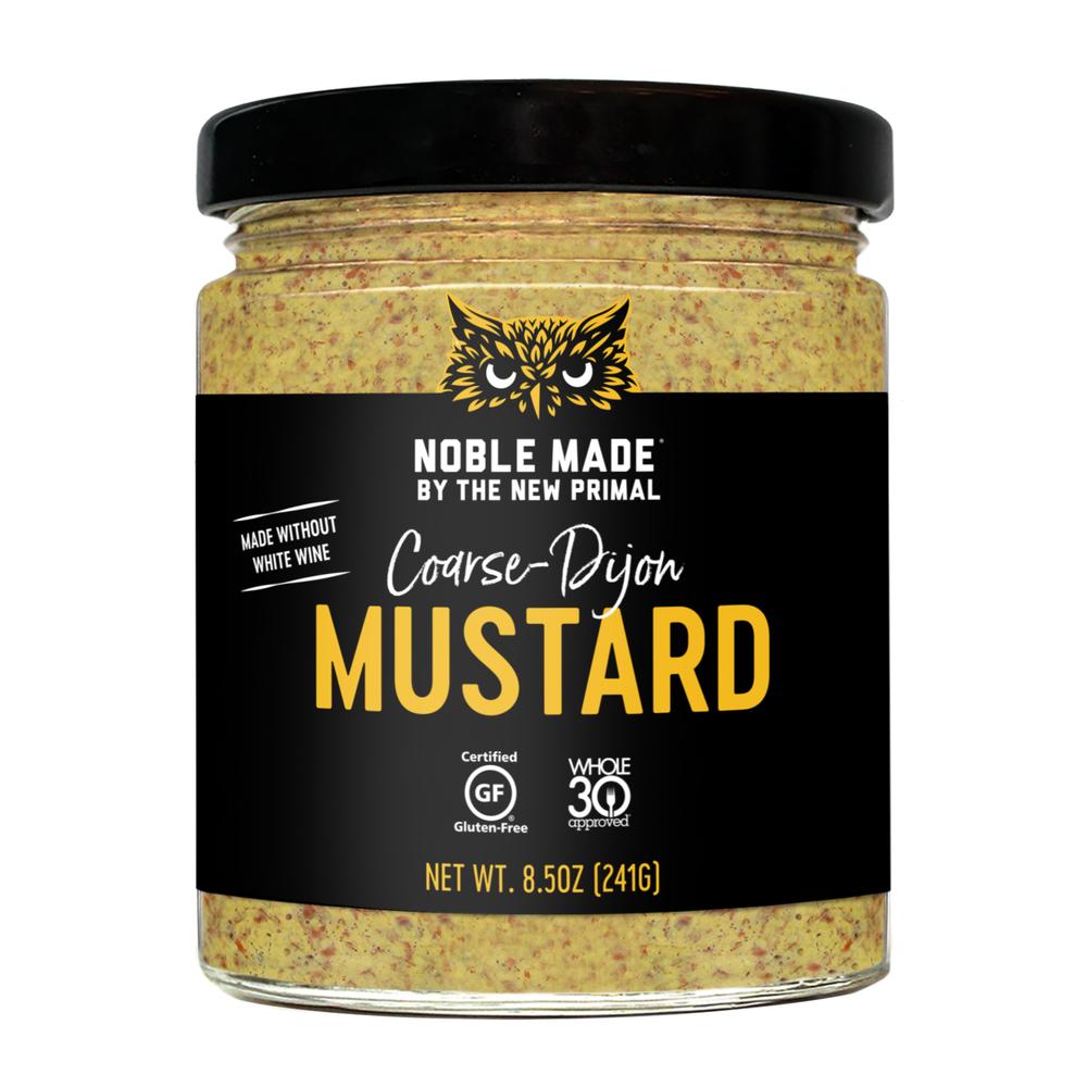 Coarse Dijon Mustard - The New Primal - Keto Certified by the Paleo Foundation