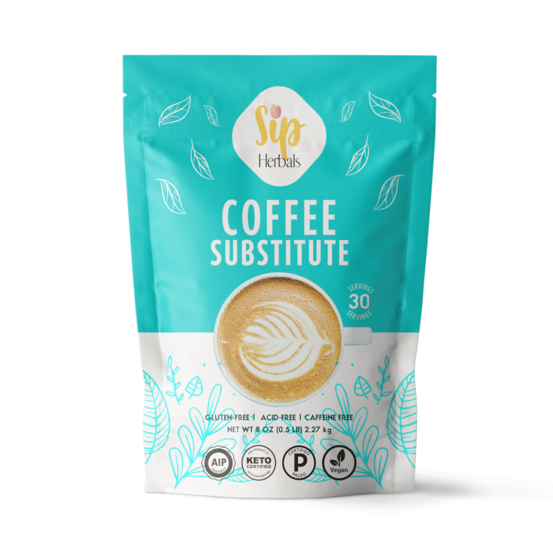Coffee Substitute - Sip Herbals - Certified Paleo Keto Certified by the Paleo Foundation