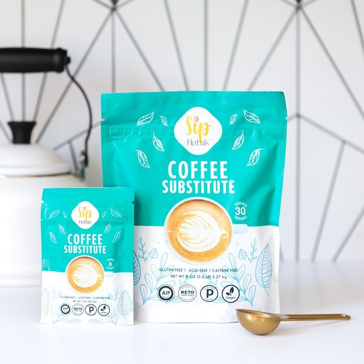 Coffee Substitutes - Sip Herbal - Certified Paleo Keto Certified by the Paleo Foundation