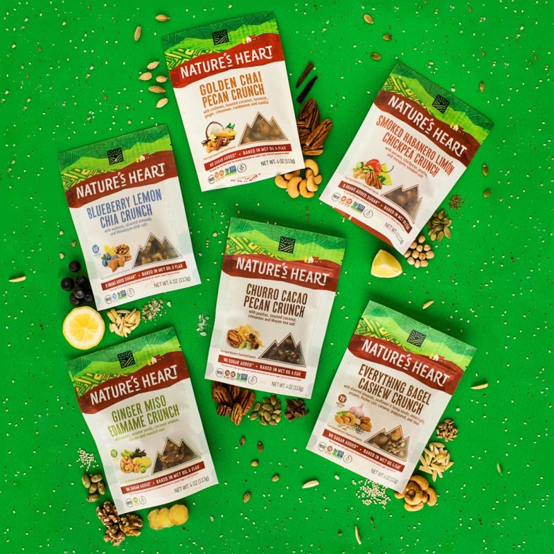 Crunch Lineup - Nature's Heart - Keto Certified by the Paleo Foundation