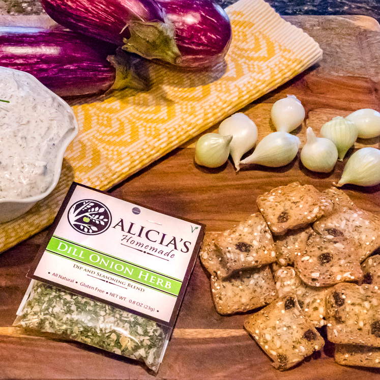 Dill Onion Herb With Crackers - Alicia's Homemade - Keto Certified by the Paleo Foundation