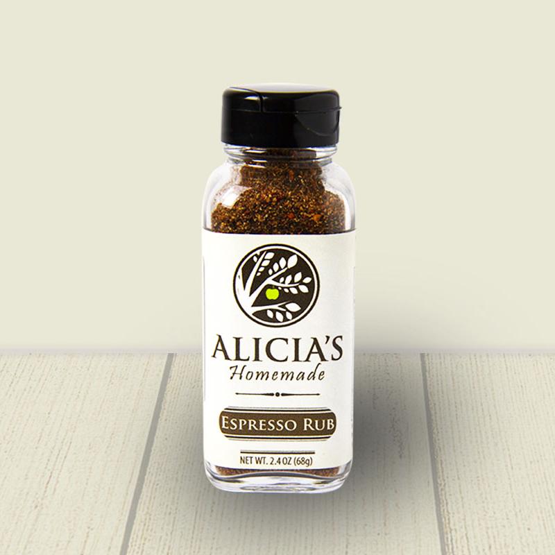 Espresso Rub - Alicia's Homemade - Keto Certified by the Paleo Foundation