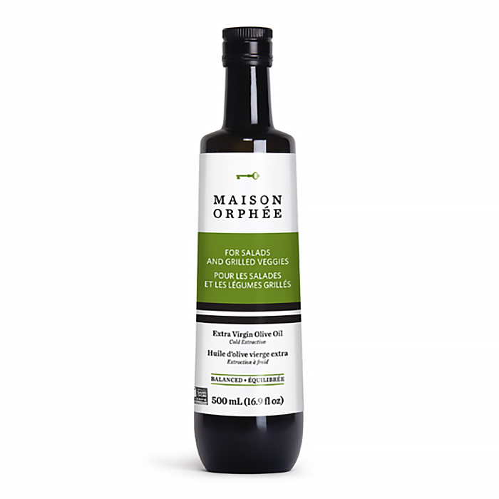 Extra Virgin Olive Oil Balanced - Maison Orphee - Keto Certified by the Paleo Foundation