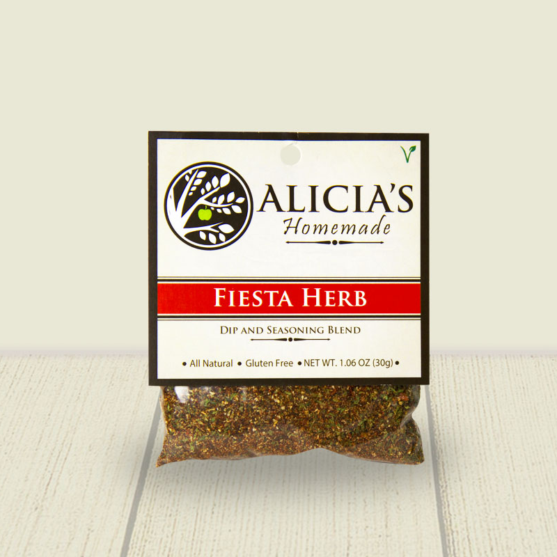 Fiesta Herb Seasoning Blend - Alicia's Homemade - Keto Certified by the Paleo Foundation