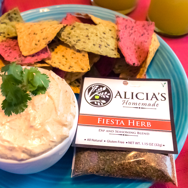 Fiesta Herb With Chips - Alicia's Homemade - Keto Certified by the Paleo Foundation