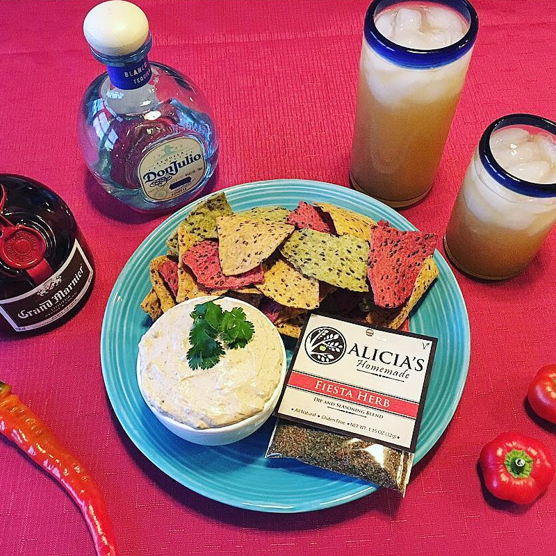 Fiesta Herb With Dip - Alicia's Homemade - Keto Certified by the Paleo Foundation