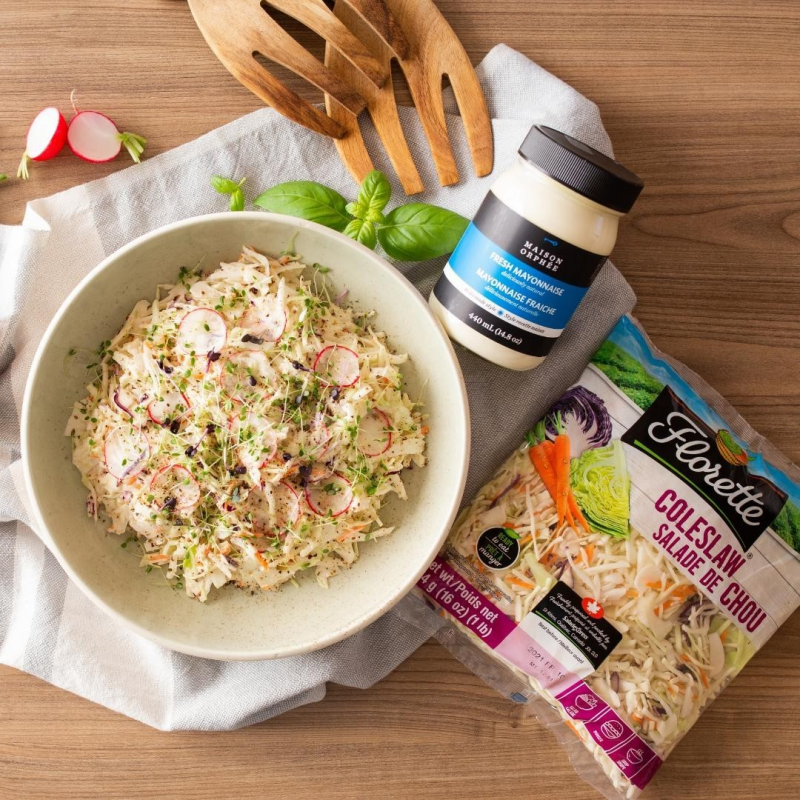 Fresh Mayo In Coleslaw - Maison Orphee - Keto Certified by the Paleo Foundation