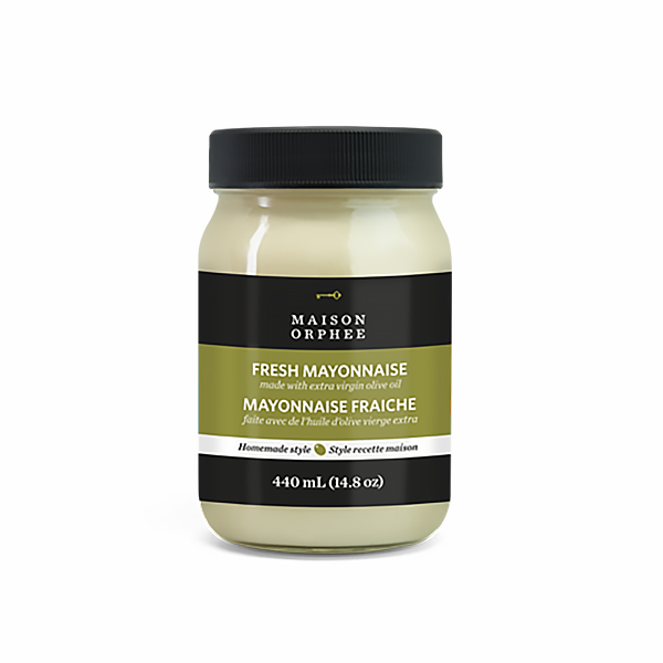 Fresh Mayonnaise Extra Virgin Olive Oil - Maison Orphee - Keto Certified by the Paleo Foundation