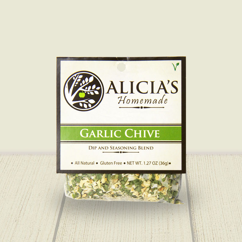 Garlic Chive Seasoning Blend - Alicia's Homemade - Keto Certified by the Paleo Foundation