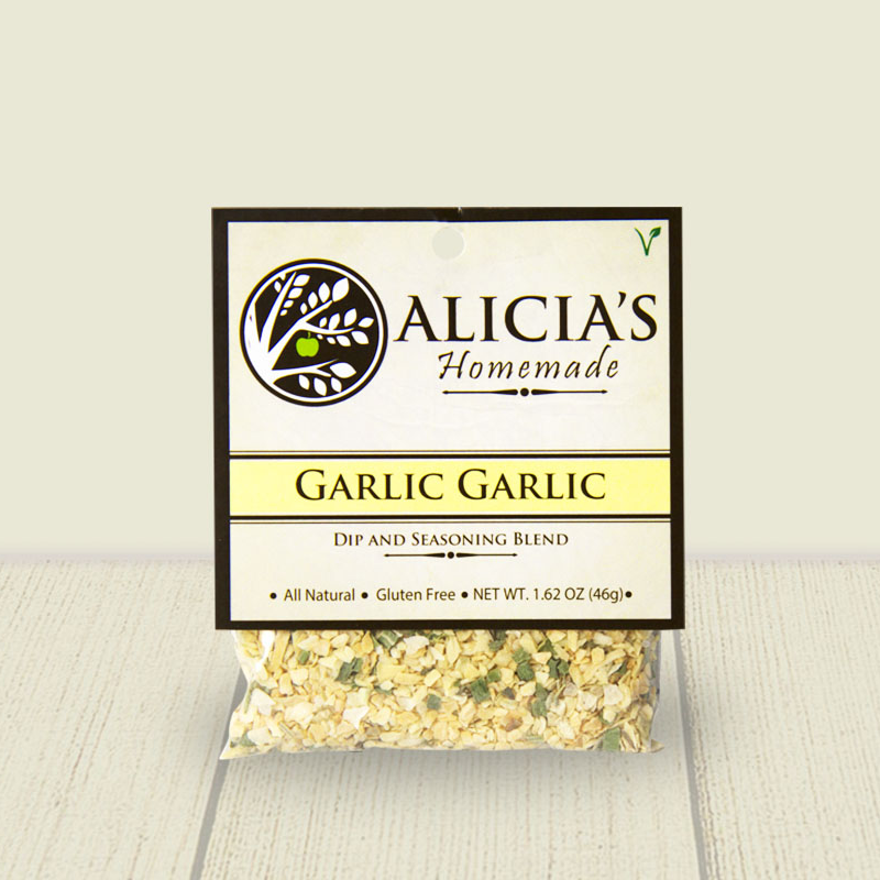 Garlic Herb Seasoning Blend - Alicia's Homemade - Keto Certified by the Paleo Foundation