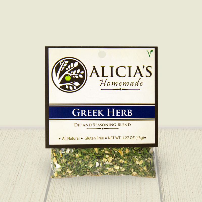 Greek Herb Seasoning Blend - Alicia's Homemade - Keto Certified by the Paleo Foundation
