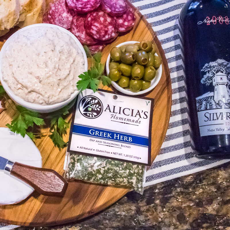 Greek Herb Seasoning With Charcuterie - Alicia's Homemade - Keto Certified by the Paleo Foundation