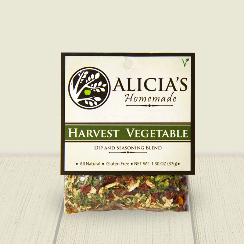 Harvest Vegetable Seasoning Blend - Alicia's Homemade - Keto Certified by the Paleo Foundation