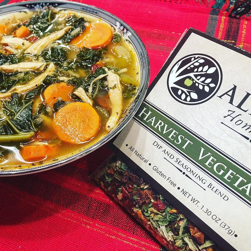 Harvest Vegetable Seasoning In Soup - Alicia's Homemade - Keto Certified by the Paleo Foundation