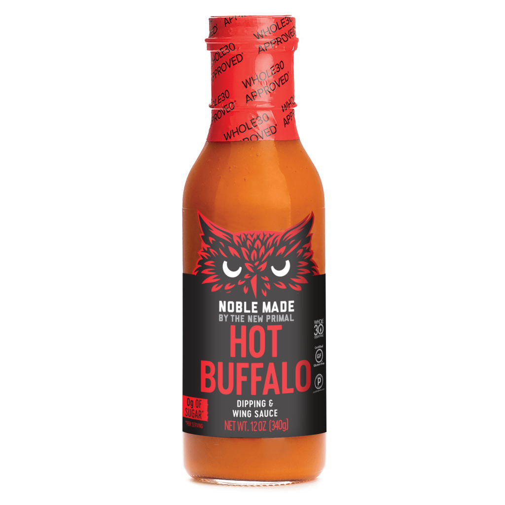Hot Buffalo - The New Primal - Certified Paleo Keto Certified by the Paleo Foundation